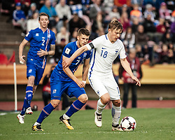 September 2, 2017 - Tampere, Finland - Finland's Jere Uronen during the FIFA World Cup 2018 Group I football qualification match between Finland and Iceland in Tampere, Finland, on September 2, 2017. (Credit Image: © Antti Yrjonen/NurPhoto via ZUMA Press)