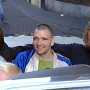 NLD/Utrecht/20061001 - Premiere tv serie circus Waltz, Koen Wouterse, Theo Maassen en Barry Atsma