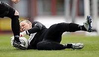 Fotball<br /> Norge<br /> 04.05.2011<br /> Foto: Morten Olsen, Digitalsport<br /> <br /> Trening Norge A kvinner<br /> Nadderud Stadion<br /> Internkamp - Norge Blå mot Norge Hvit<br /> <br /> Caroline Knutsen