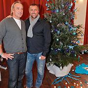 NLD/Amsterdam/20101208 - Skyradio Christmas Tree for Charity 2010, John de Wolf en Jacko Jansen