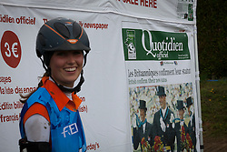 Marijke Visser, (NED)<br /> Endurance - Alltech FEI World Equestrian Games™ 2014 - Normandy, France.<br /> © Hippo Foto Team - Jantien Van Zon