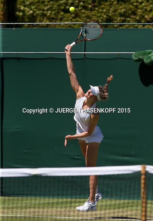 Mona Barthel (GER)<br /> <br /> Tennis - Wimbledon 2015 - Grand Slam ITF / ATP / WTA -  AELTC - London -  - Great Britain  - 30 June 2015.
