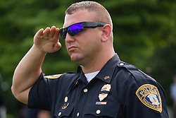 Fallen Bardstown police officer Jason Ellis was laid to rest, Thursday, May 30, 2013 at High View Cemetery in Chaplin. Photo by Jonathan Palmer