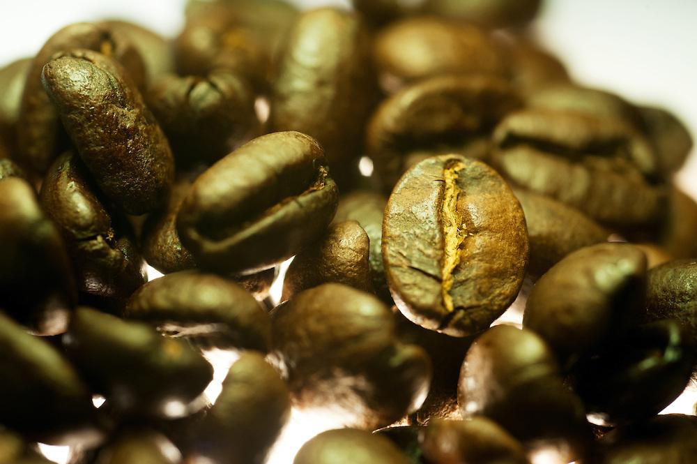 DAR ES SALAAM, TANZANIA -  2014-05-24  - Tanzanian coffee beans in Dar es Salaam, Tanzania. Photo by Daniel Hayduk