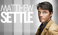 Advertising portrait of American actor Matthew Settle by Michel Leroy PHOTOGRAPHER