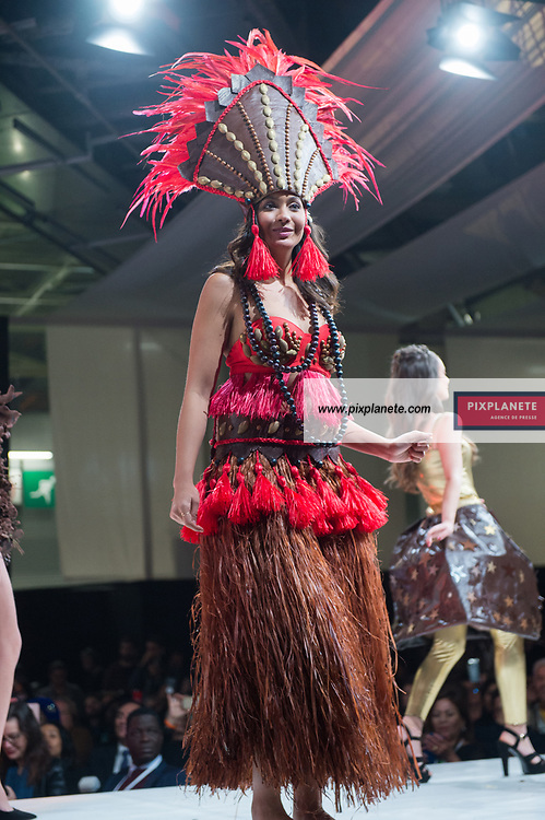 Vaimalama Chaves Miss France 2019 25ème Salon du Chocolat mardi 29 Octobre 2019 Porte de Versailles Paris