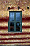 Detail, historic factory wall & window, Norwegian Folk Museum near Oslo, Norway..Media Usage:.Subject photograph(s) are copyrighted Edward McCain. All rights are reserved except those specifically granted by McCain Photography in writing...McCain Photography.211 S 4th Avenue.Tucson, AZ 85701-2103.(520) 623-1998.mobile: (520) 990-0999.fax: (520) 623-1190.http://www.mccainphoto.com.edward@mccainphoto.com
