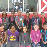 HOUSTON FIRST GRADE STUDENTS OF MONTH<br /> (Courtesy Photo)<br /> Students of the Month named recently at Houston Lower Elementary are, Damorio Hamilton, front from left, Azucena Vazquez, Janaria Jones, Amareli Varela, Emily Mooneyham, Chloe Hiner and Walker McCreight. Back row from left are Jaslyn Thomas, Joseph Coleman, Kimora Seals, Antavious Hill, Lasarah Johnson, Ania Stovall and DJ Almarode.
