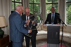 Eugene Mathy, Jacky Buchmann, Philippe Demeersman<br /> Viering 25 jaar voorzitterschap Jacky Buchmann<br /> &copy; Hippo Foto - Dirk Caremans<br /> 08/07/15