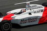 Sam Hornish Jr. at the Richmond International Raceway, SunTrust Indy Challenge, June 25, 2005