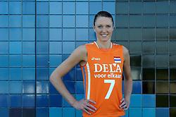 02-06-2010 VOLLEYBAL: NEDERLANDS VROUWEN VOLLEYBAL TEAM: ALMERE<br /> Reportage Nederlands volleybalteam vrouwen / Quinta Steenbergen<br /> ©2010-WWW.FOTOHOOGENDOORN.NL