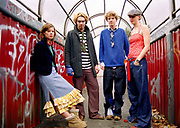 A group of teenagers / indie kids, Bristol, 2002