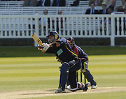 2005 Totesport League, Middlesex Crusader vs Hampshire Hawks at Lords, ENGLAND, 15.05.2005, Kevin Pietersen..Photo  Peter Spurrier. .email images@intersport-images...