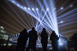 London, UK. 10th January, 2019. Nest by Marshmallow Laser Feast in collaboration with Erland Cooper - Waltham Forest, London Borough of Culture 2019. Welcome to the Forest takes place between 11-13 January in Waltham Forest as part of the Mayor of London's first-ever London Borough of Culture.