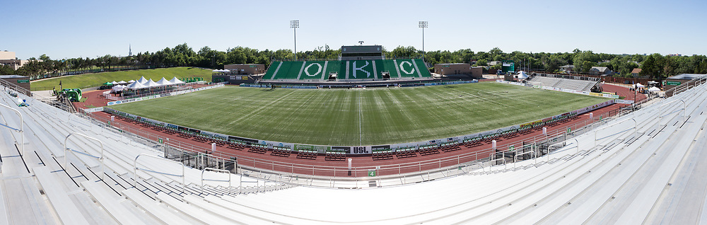 May 24, 2017: OKC Energy FC plays the Portland Timbers 2 in a USL game at Taft Stadium in Oklahoma City, Oklahoma.