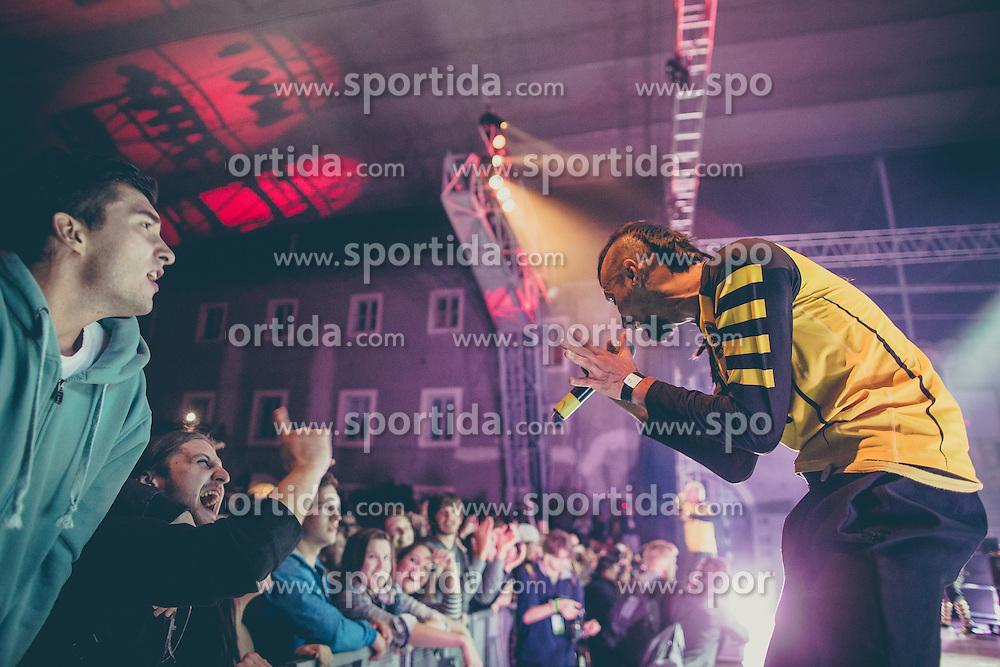 Dubioza Kolektiv performing at Kurzschluss Special event in Krizanke, Ljubljana on 26. September 2015, Sloveni. Photo by Grega Valancic / Sportida.com