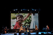 PEEKSKILL, NY OCTOBER 16: Images from the final stop of the Array of Hope Tour at the Paramoutn Theater in Peekskill, New York.