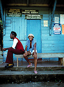 Young Couple at Post Office - Port Antonio