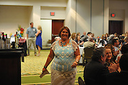 Tami Tacke was presented the Outstanding Service Award during the Chamber of Commerce's annual banquet at the Oxford Conference Center in Oxford, Miss. on Thursday, June 6, 2013.