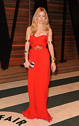 Sienna Miller arrives at the 2014 Vanity Fair Oscar Party in West Hollywood, California, USA,  Sunday, 2nd March 2014. Picture by Hollywood Bubbles / i-Images<br /> UK ONLY