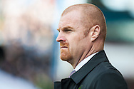 Burnley manager Sean Dyche prior to the Sky Bet Championship match at Turf Moor, Burnley<br /> Picture by Matt Wilkinson/Focus Images Ltd 07814 960751<br /> 02/05/2016