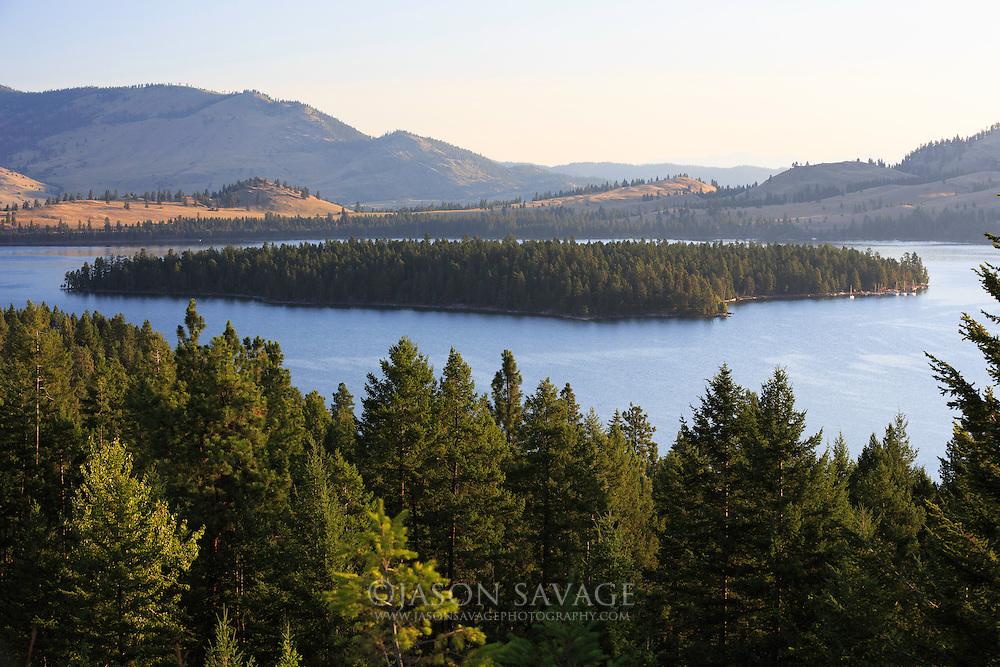 Melita Island, Montana, Flathead Lake