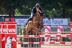 BEERBAUM Markus (GER), CHACCO'S LADY 2<br /> Münster - Turnier der Sieger 2019<br /> PREIS DER SINNACK BACKSPEZIALITÄTEN GMBH & Co.KG<br /> CSIYH1* - Int. Jumping competition  (1.35 m/1.40 m) <br /> Youngster Cup für 7+8 jährige Pferde<br /> 02. August 2019<br /> © www.sportfotos-lafrentz.de/Stefan Lafrentz