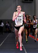 Feb 24, 2017; Seattle, WA, USA; Erin Clark of Colorado wins the women's 5,000m in 15:50.96 during the MPSF Indoor Championships at the Dempsey Indoor.