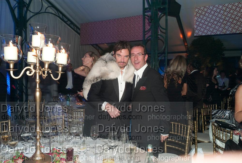 ROBERT HANSON, Evgeny Lebedev and Graydon Carter hosted the Raisa Gorbachev charity Foundation Gala, Stud House, Hampton Court, London. 22 September 2011. <br /> <br />  , -DO NOT ARCHIVE-&copy; Copyright Photograph by Dafydd Jones. 248 Clapham Rd. London SW9 0PZ. Tel 0207 820 0771. www.dafjones.com.