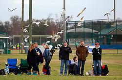 28 February 2015. New Orleans, Louisiana.<br /> U10 New Orleans Jesters Elites, team green V PAC.<br /> Photo; Charlie Varley/varleypix.com