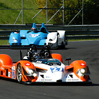 Frey/Buncombe-Race Performance Radical SR9 Judd (27); Schell/Da Rocha-Pegasus Racing Courage-Oreca LC75 (36), Le Mans Series 1000 Kilometres Hungaroring 2010