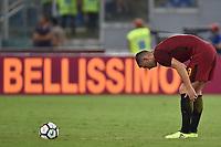 Delusione Edin Dzeko Roma Dejection <br /> Roma 26-08-2017 Stadio Olimpico Calcio Serie A AS Roma - Inter Foto Andrea Staccioli / Insidefoto