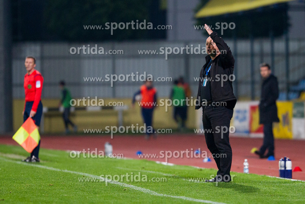 Andrej Kastrevec, head coach of NK Krka during football match between NK Domzale and NK Krka in 14th Round of Prva liga Telekom Slovenije 2015/16, on October 17, 2015 in Sports park Domzale, Slovenia. Photo by Urban Urbanc / Sportida
