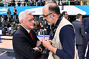 DESCRIZIONE : Trento Beko All Star Game 2016<br /> GIOCATORE : Giulio Ciamillo Valerio Bianchini<br /> CATEGORIA : Before Pregame<br /> EVENTO : Beko All Star Game 2016<br /> GARA : Beko All Star Game 2016<br /> DATA : 10/01/2016<br /> SPORT : Pallacanestro <br /> AUTORE : Agenzia Ciamillo-Castoria/Max.Ceretti