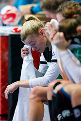 11-12-2019 JAP: Norway - Germany, Kumamoto<br /> Last match Main Round Group1 at 24th IHF Women's Handball World Championship, Norway win the last match against Germany with 32 - 29. / Germany disappointed Antje Lauenroth #29 of Germany