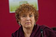 Roma 13 Febbraio 2014<br /> Presentato  il Rapporto sulla povert&agrave; a Roma e nel Lazio 2013 a cura della Comunit&agrave; di Sant'Egidio. Linda Laura Sabbadini, Direttore del Dipartimento delle Statistiche Sociali e Ambientali dell'Istat