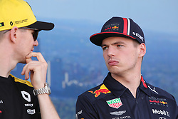 March 16, 2019 - MAX VERSTAPPEN attending the F1 Driver Q&A Panel on Qualifying Saturday at the 2019 Formula 1 Australian Grand Prix on March 16, 2019 In Melbourne, Australia  (Credit Image: © Christopher Khoury/Australian Press Agency via ZUMA  Wire)