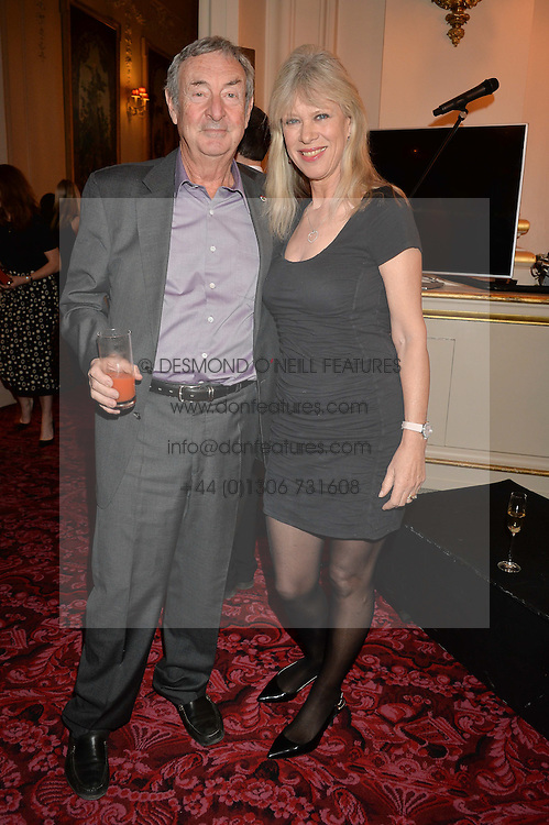 NICK & NETTE MASON at the Audi Ballet Evening at The Royal Opera House, Covent Garden, London on 23rd April 2015.