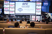 LAS VEGAS, NV - JULY 6:  Fans look on during the UFC Lip Sync Challenge in Lagasse's Stadium at The Palazzo Las Vegas on July 6, 2016 in Las Vegas, Nevada. (Photo by Cooper Neill/Zuffa LLC/Zuffa LLC via Getty Images) *** Local Caption ***