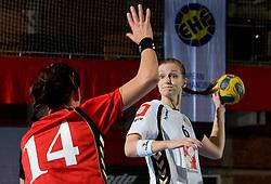 Ana Gros of Krim at handball match of Round 2 of Champions League between RK Krim Mercator and Aalborg DH, on October 31, 2009, in Arena Kodeljevo, Ljubljana, Slovenia.  Krim won 30:23. (Photo by Vid Ponikvar / Sportida)