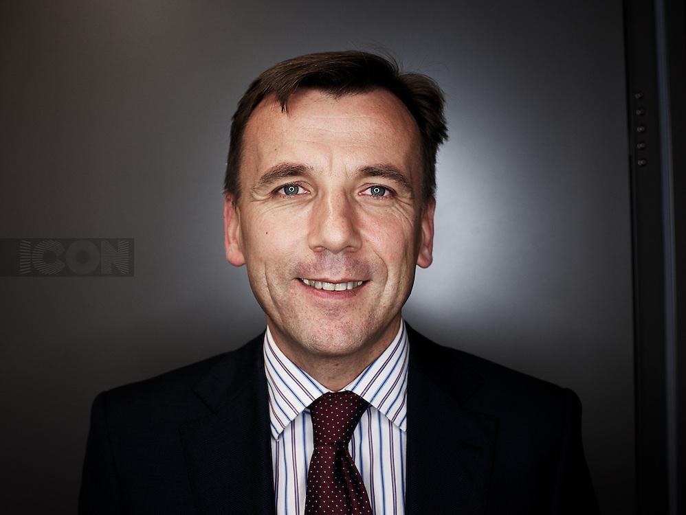 Picture by Matt Gore/iconphotomedia.SAP CFO Benoit Fouillan, photographed in City of London