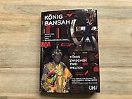 Book Cover King Cephas Bansah<br /> <br /> Mit freundlicher Genehmigung von K&ouml;nig Cephas Bansah, K&ouml;nigin Gabriele Bansah und dem GHV Verlag (Bestellung &uuml;ber www.koenig-bansah.de)