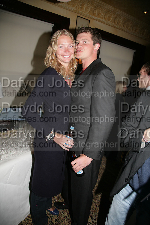 Jodie Kidd and her brother Jack Kidd, PJ's Annual Polo Party . Annual Pre-Polo party that celebrates the start of the 2007 Polo season.  PJ's Bar &amp; Grill, 52 Fulham Road, London, SW3. 14 May 2007. <br /> -DO NOT ARCHIVE-&copy; Copyright Photograph by Dafydd Jones. 248 Clapham Rd. London SW9 0PZ. Tel 0207 820 0771. www.dafjones.com.