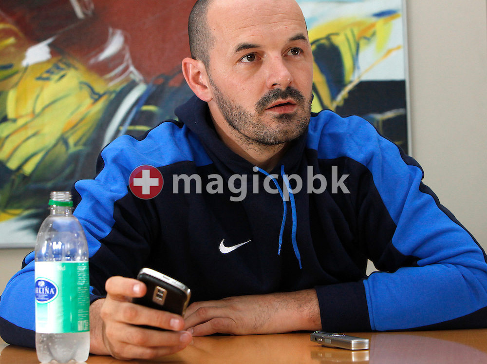 ZSC Lions sporting director Edgar Salis of Switzerland is pictured during an interview at ZSC Lions headquarters in Zurich (Zuerich), Switzerland, Tuesday, Aug. 25, 2009. (Photo by Patrick B. Kraemer / MAGICPBK)