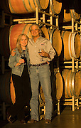Steve & Carol Girard, proprietors, Benton-Lane Winery, Southern Willamette Valley, Oregon