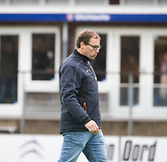 BILTHOVEN - assistent coach Paul-Robert Lankhout (SCHC)  tijdens de competitiewedstrijd heren,  SCHC-Almere (3-2) . COPYRIGHT KOEN SUYK