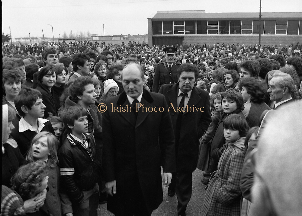 Memorial Mass at Artane for Stardust Victims.17/02/1981