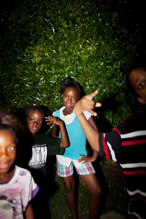 in the Baptist Town neighborhood of Greenwood, Mississippi on May 26, 2011.