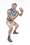 Actor Marcus Pointon is the face of Campbells Soup Fully Loaded Guy.<br /> Photographed for MZoo for DDB Sydney.