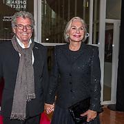 NLD/Amsterdam/20190910 - Het Nationale Ballet Gala 2019, Monique van de Ven en partner Edwin de Vries